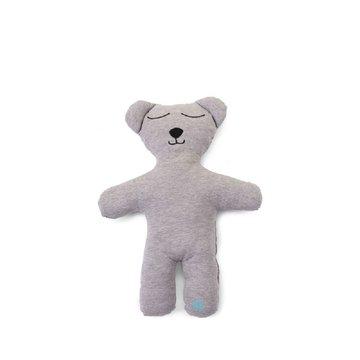 CHILDHOME - Mata Miś 40 cm Jersey Grey