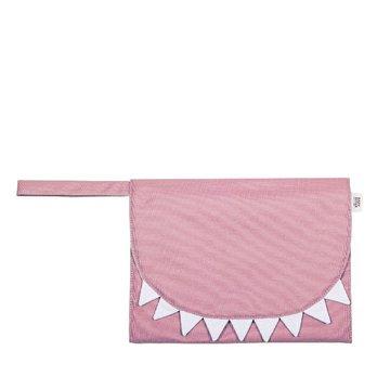 Baby Bites Przewijak podróżny Shark Pink BABY BITES