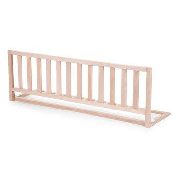 CHILDHOME - Drewniana barierka do łóżka 120 cm Natural