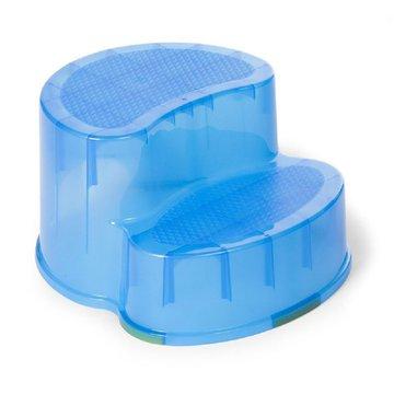 CHILDHOME - Podest dwustopniowy i krzesełko 2w1 Blue