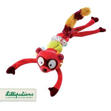 LILLIPUTIENS Zawieszka wibrująca Lemur George 0 m+ Lilliputiens