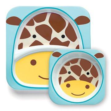 Skip Hop - Zestaw jedzeniowy Zoo Żyrafa