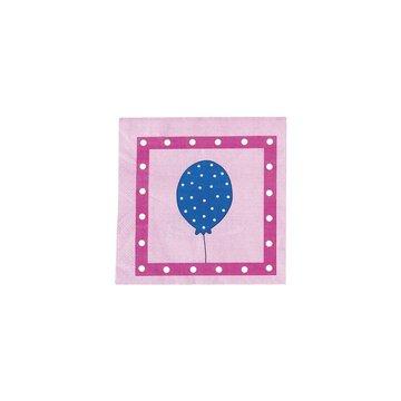 JaBaDaBaDo - Serwetki urodzinowe różowe
