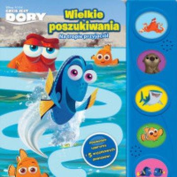 Olesiejuk Sp. z o.o. - Disney Pixar Gdzie jest Dory. Wielkie poszukiwania. Na tropie przyjaciół