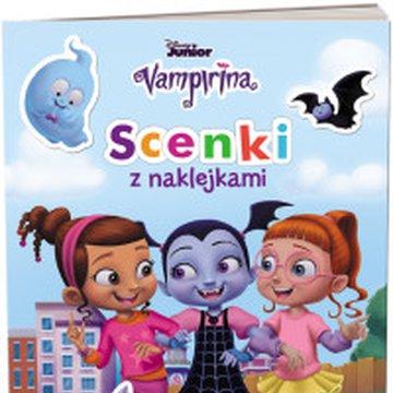 Ameet - Disney Vampirina. Scenki z naklejkami