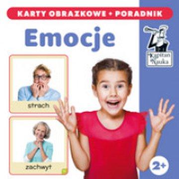 Kapitan Nauka - Emocje (karty obrazkowe + poradnik)
