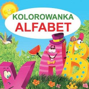 Martel - Kolorowanka. Alfabet