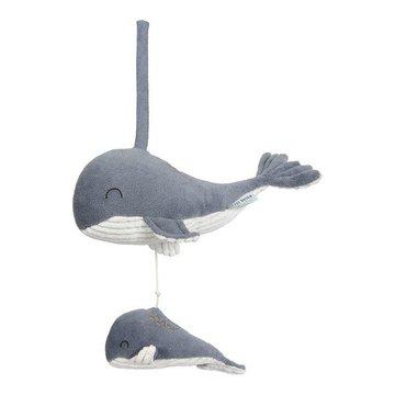 Little Dutch Pozytywka wieloryb Ocean Błękit LD4801