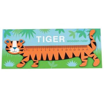 Drewniana linijka, Tygrys, Rex London