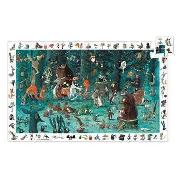 Djeco - Puzzle obserwacja ORKIESTRA 35 el.DJ07588