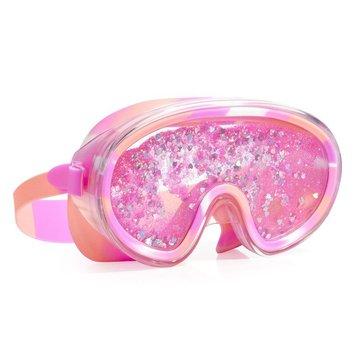 Maska do pływania z brokatem, różowa, Bling2O Bling2o