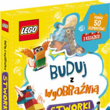 Ameet - Lego Iconic. Buduj z wyobraźnią. Stworki