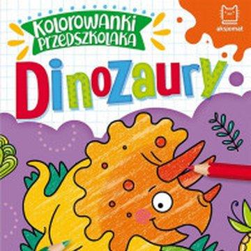 Aksjomat - Kolorowanki przedszkolaka. Dinozaury