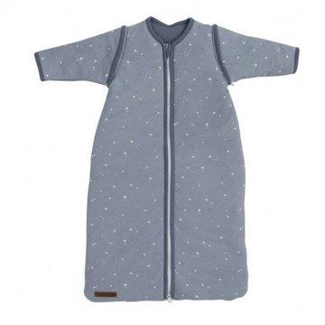 Little Dutch Śpiworek z odpinanymi rękawkami 70 cm Little stars Blue 2149