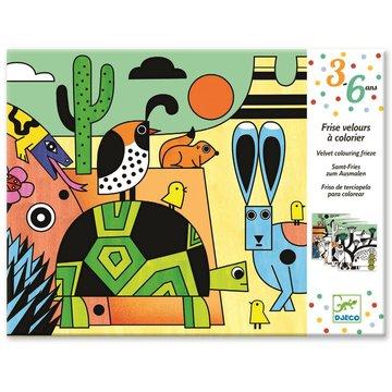 Djeco - Welurowa kolorowanka COLORADO DJ09627