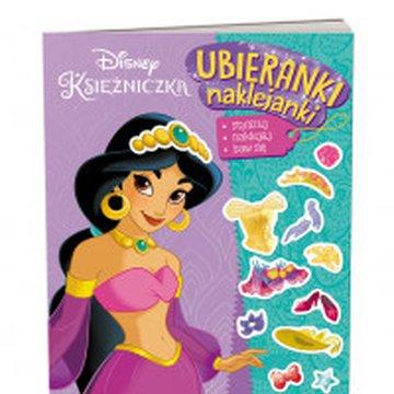 Ameet - Disney Księżniczka. Ubieranki, naklejanki