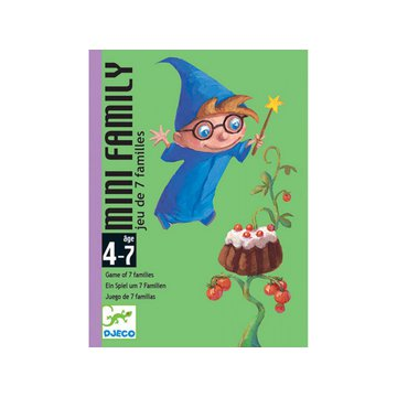 Djeco - Gra karciana MINI FAMILY  DJ05101
