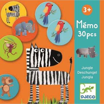 Djeco - Gra pamiciowa Dungla 30 elementw DJ08159