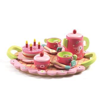Djeco - Drewniany zestaw urodzinowy LILI ROSE DJ06639
