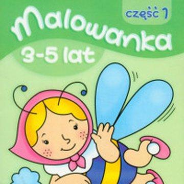 Literka - Malowanka 3-5 lat, część 1