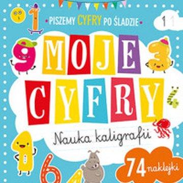 Books And Fun - Moje cyfry. Nauka kaligrafii