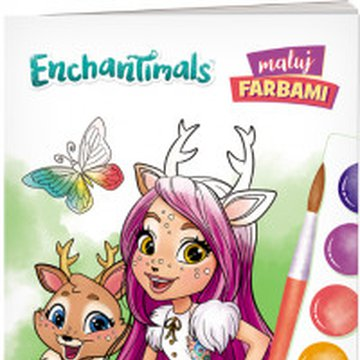 Ameet - Enchantimals. Maluj Farbami