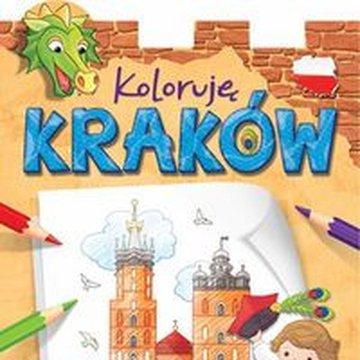Aksjomat - Koloruję Kraków. Malowanka z naklejkami