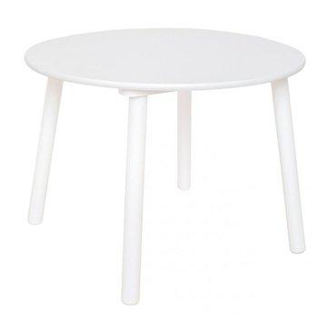 Drewniany Stolik biały okrągły Jabadabado JaBaDaBaDo
