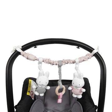 Tiamo Miffy Pink Babyrib Pałąk interaktywny NIJN617