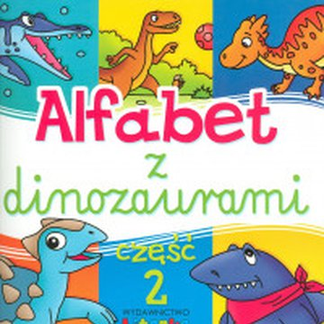 Literka - Alfabet z dinozaurami, część 2