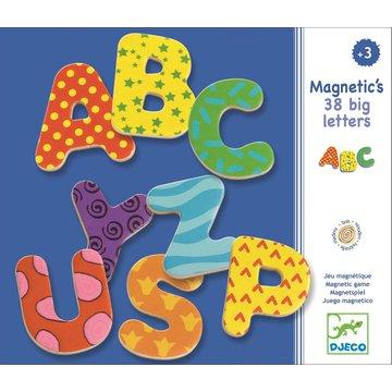 Djeco - Due litery magnetyczne 38 szt DJ03100