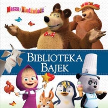 Egmont - Masza i Niedźwiedź. Biblioteka Bajek