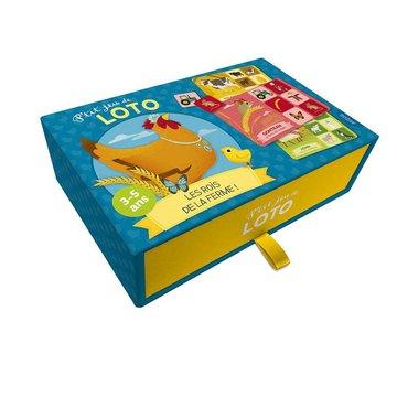 Auzou Gra w bingo Zwierzątka na farmie 3+ 49590