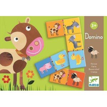 Djeco - Gra domino FARMA DJ08158