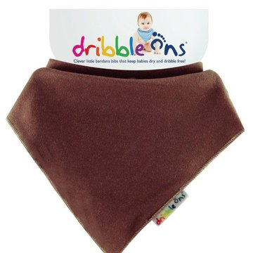 Sock Ons - Dribble Ons Brights Chocolate