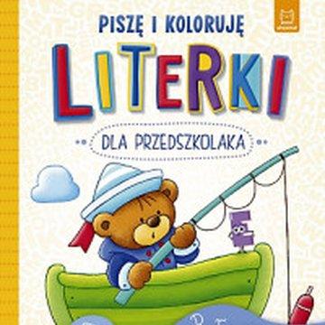 Aksjomat - Literki dla przedszkolaka. Piszę i koloruję