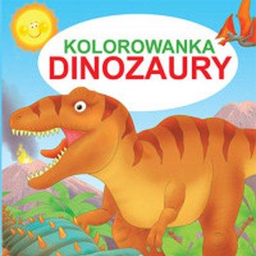 Martel - Kolorowanka. Dinozaury