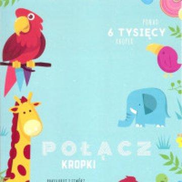DLACZEMU - Połącz kropki. Pokoloruj i stwórz niezwykłe obrazki zwierzątek. Ponad 6 tysięcy kropek