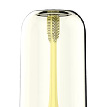InnoGIO Soniczna elektryczna szczoteczka do zębów dla dzieci z funkcją 360°-  żółta