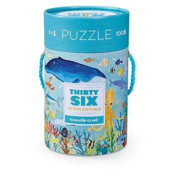 Crocodile Creek® - Puzzle 100el., motyw morskie zwierzęta, CC