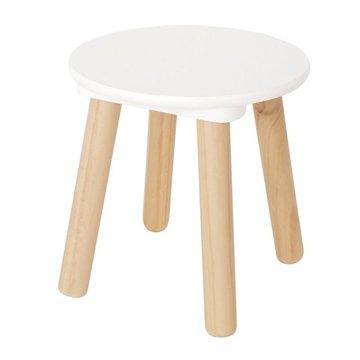 Krzesełko biało naturalne JABADABADO JaBaDaBaDo