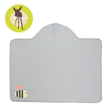Lassig Ręcznik z kapturem Bumble Bee 100x70 cm UV 50+