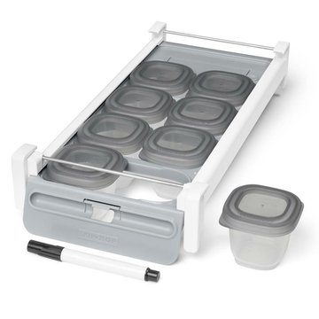 Skip Hop - Zestaw szufladka + pojemniki do lodówki