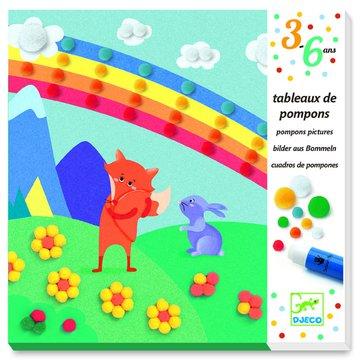 Djeco - Obrazki z pomponw TCZA DJ09865