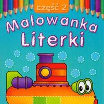 Literka - Malowanka. Literki, część 2