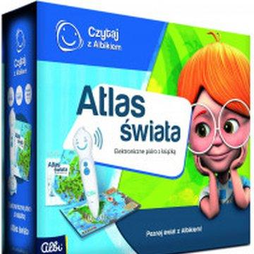 Albi - Czytaj z Albikiem. Zestaw pióro + Atlas świata