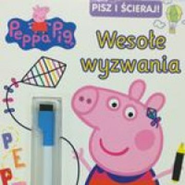 Media Service Zawada - Pisz i Ścieraj. Peppa Pig. Nr 8. Wesołe wyzwania