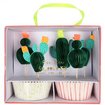 Meri Meri - Zestaw do babeczek Kaktus
