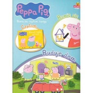 Media Service Zawada - Świnka Peppa. Bawię się, czytam, buduję. Buduję dom