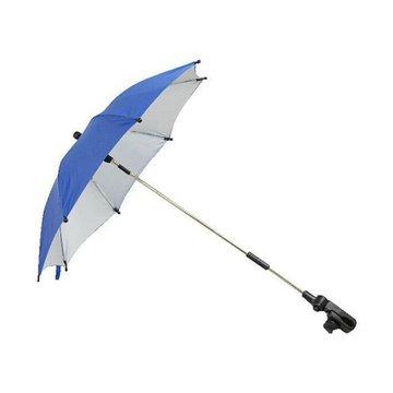 Poupy - Parasolka Przeciwsłoneczna do Wózka Spacerowego, Niebieska